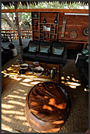 Interior of Shumba Camp, Kafue National Park, Zambia