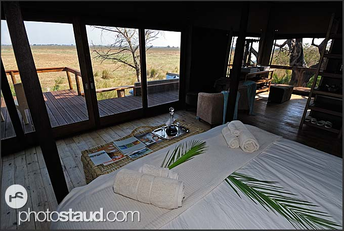 Luxurious accommodation in Kafue National Park, Shumba Camp of Wilderness Safaris, Zambia