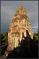 Prasat, stone tower of Ta Keo Temple, Angkor, Cambodia