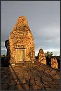 Sunset at Ta Keo Temple, Angkor, Cambodia