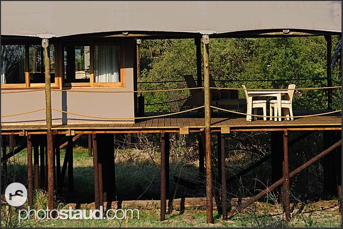 Toka Leya Camp - luxurious lodge of Wilderness Safaris in Mosi-oa-Tunya Park, Zambia