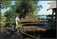 Toka Leya Camp - luxurious lodge of Wilderness Safaris in Mosi-oa-Tunya Park, Zambia