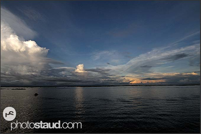 Landscape of Tonle Sap Lake, Cambodia