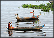 Floating church, Tonle Sap Lake, Cambodia