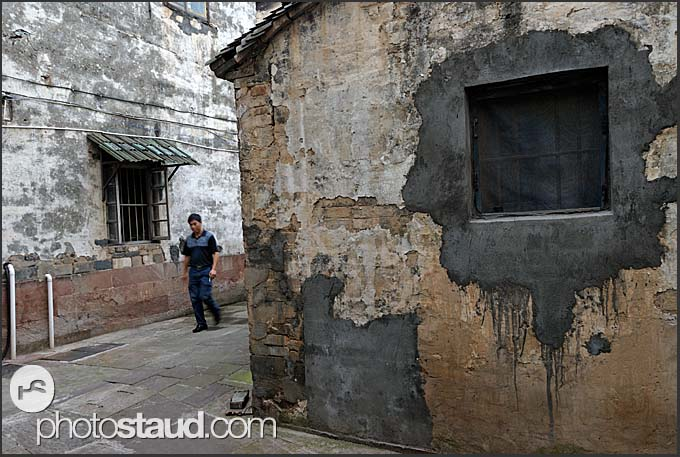 Old streets of Tunxi, Huangshan city, Anhui, China