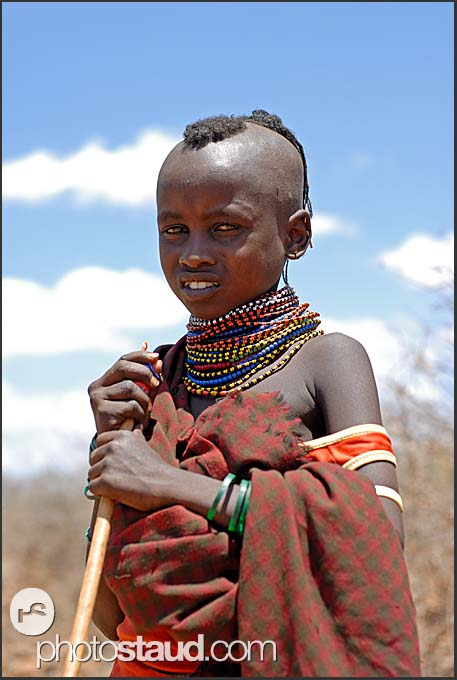 African Tribal Boys http://www.photostaud.com/africa/kenya/turkana-people/2666-african-people-turkana-kenya.html