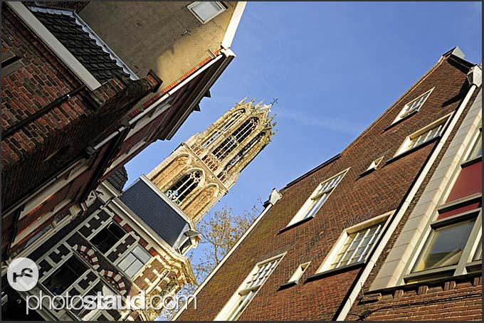 Dom tower in Utrecht, The Netherlands, Europe
