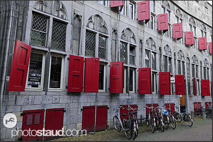 Traditional architecture of Utrecht, The Netherlands, Europe