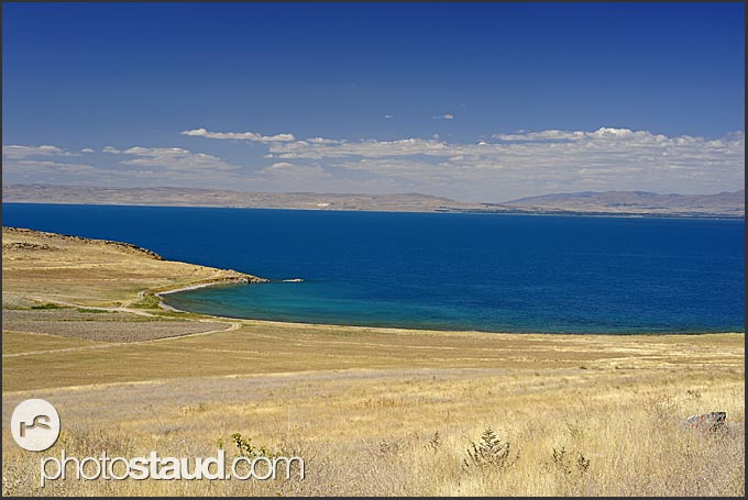 Landscape around Lake Van, Turkey