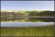 Lake Nemrut in volcano crater, Turkey
