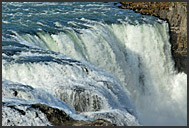 Landscape of Iceland, Gullfoss waterfall, Iceland