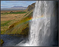 Waterfall Seljalandsfoss