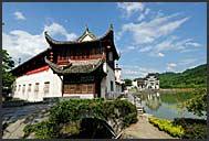 Ancient architecture of Xidi village, Anhui, China