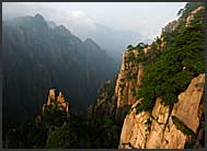 Landscape of the Yellow Mountains, Huangshan, Anhui, China