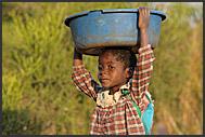 Zambia village people