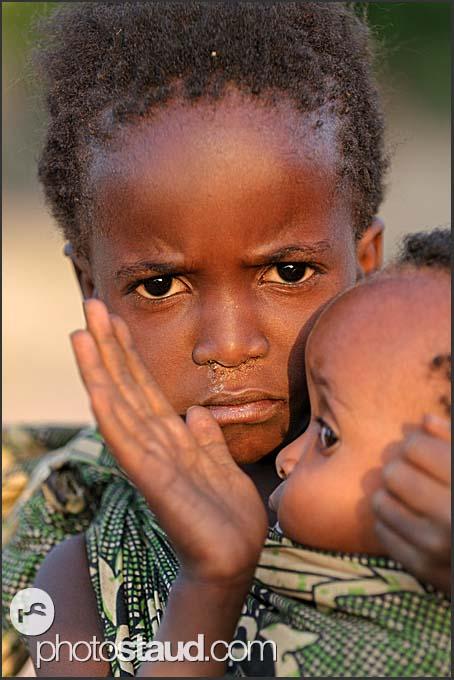 African children, Zambia