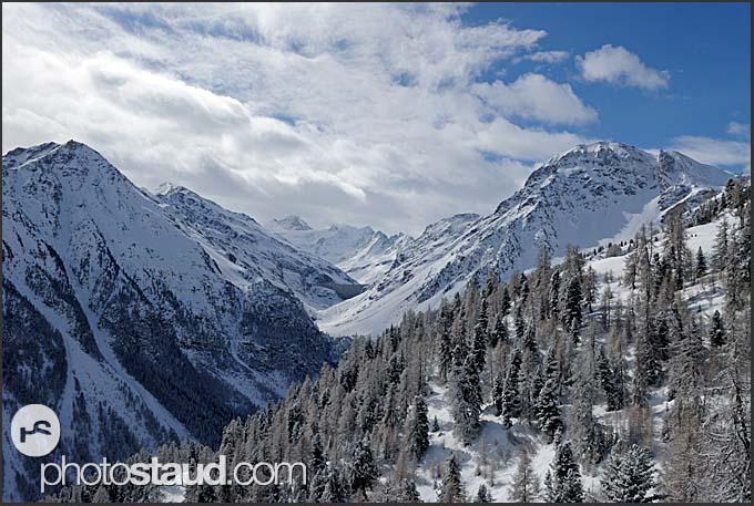 Swiss Alps in Grimentz, Valais, Switzerland, Europe