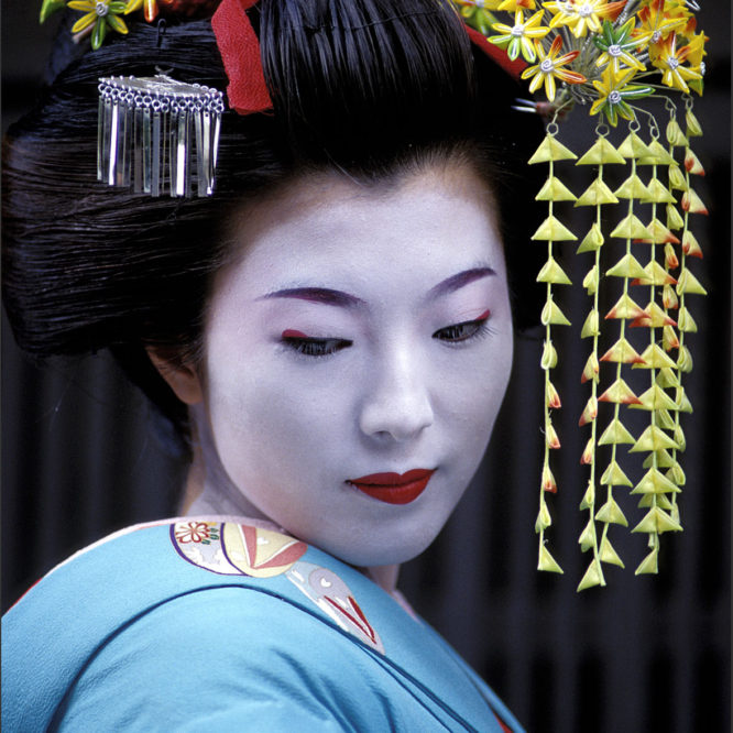 Geisha of Kyoto, Japan