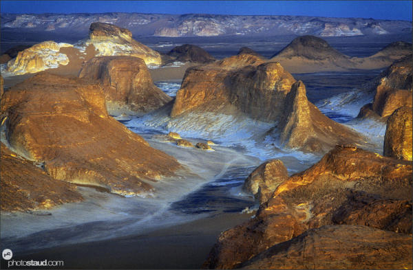 Landscape of el Agabat Valley, Western Desert, Egypt