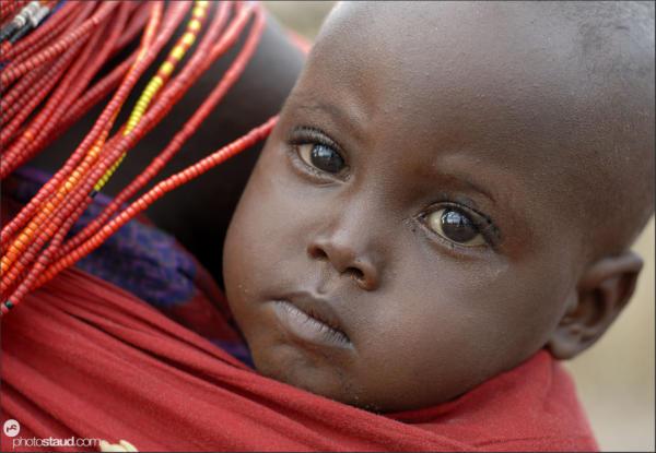 El Molo children, Kenya