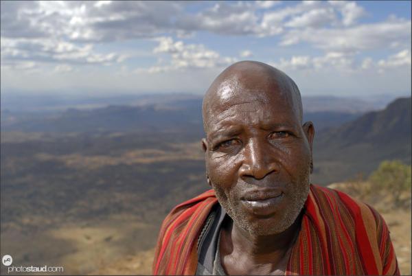 African people Samburu, Kenya