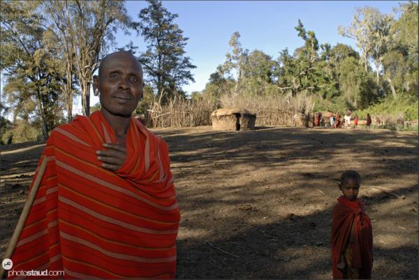 Samburu people mount Nyiru, Kenya