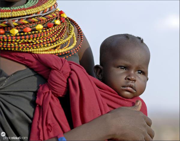 African people Turkana, Kenya