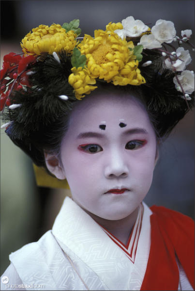 Geisha and maiko of Kyoto, Japan