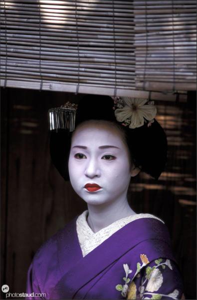 Geisha and maiko of Kyoto, Japan