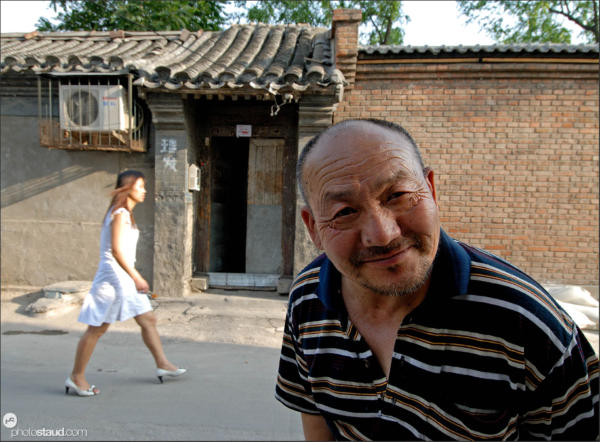 Life in Hutong – the poor quarters of Beijing, China
