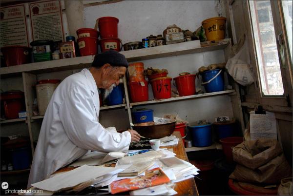 The famous Dr. Ho, Baisha, Yunnan, China