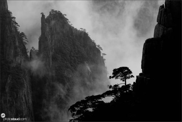 Landscape of the Yellow Mountains – Huangshan, Anhui, China