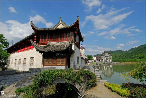 Houses of Xidi village – UNESCO site, Anhui, China