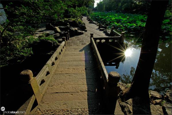 Humble Administrator's Garden in Suzhou, UNESCO site, Jiangsu Province, China