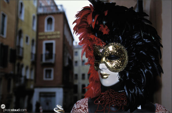 Masks of the Venice Carnival, Italy